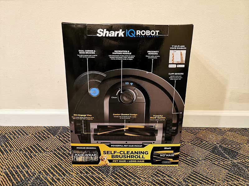 Shark IQ Robot vacuum with selfempty base review Robot