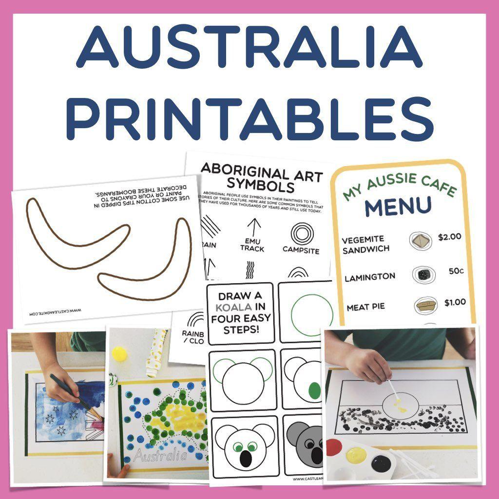 Australia Day Printables