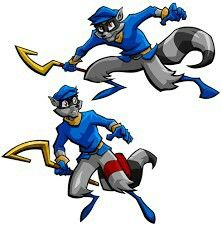 Sly Cooper Coloring Pages