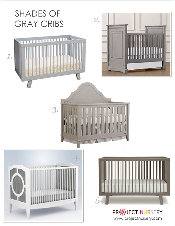 gray nursery furniture. 50 shades of gray in the nursery furniture