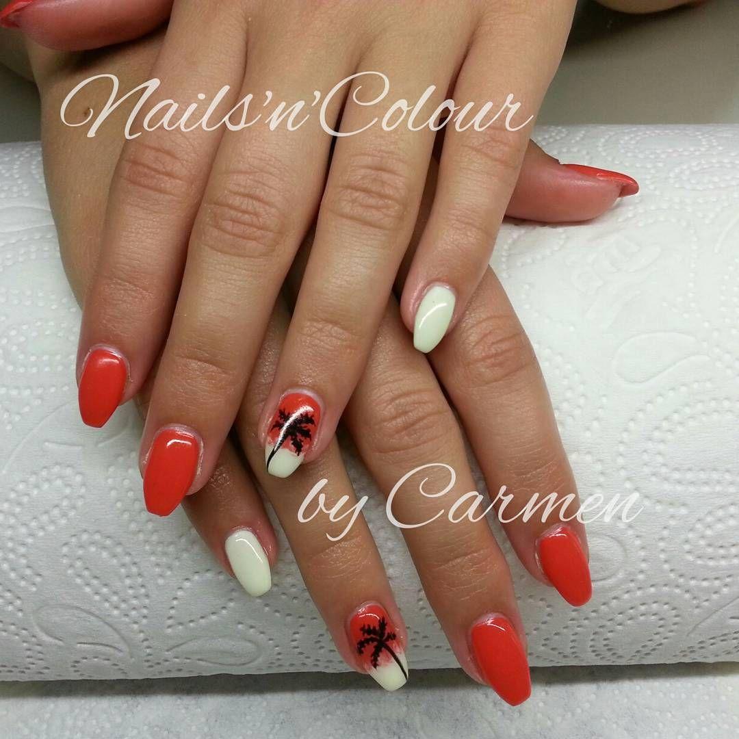 beauty #nails #nägel #urlaubsnägel #nailart #sommernägel ...
