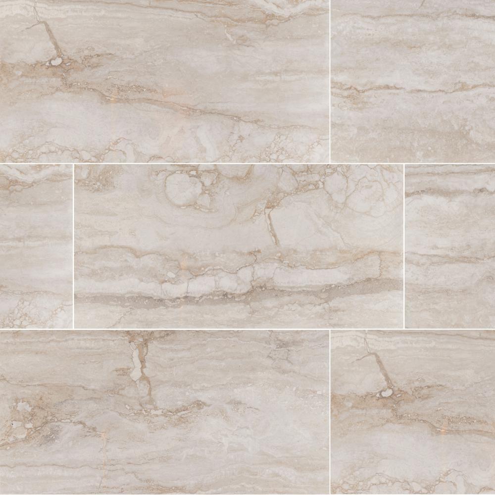 Master Home Depot Ms International Bernini Camo 12 In Glazed Porcelain Floor And Wall Tile Sq