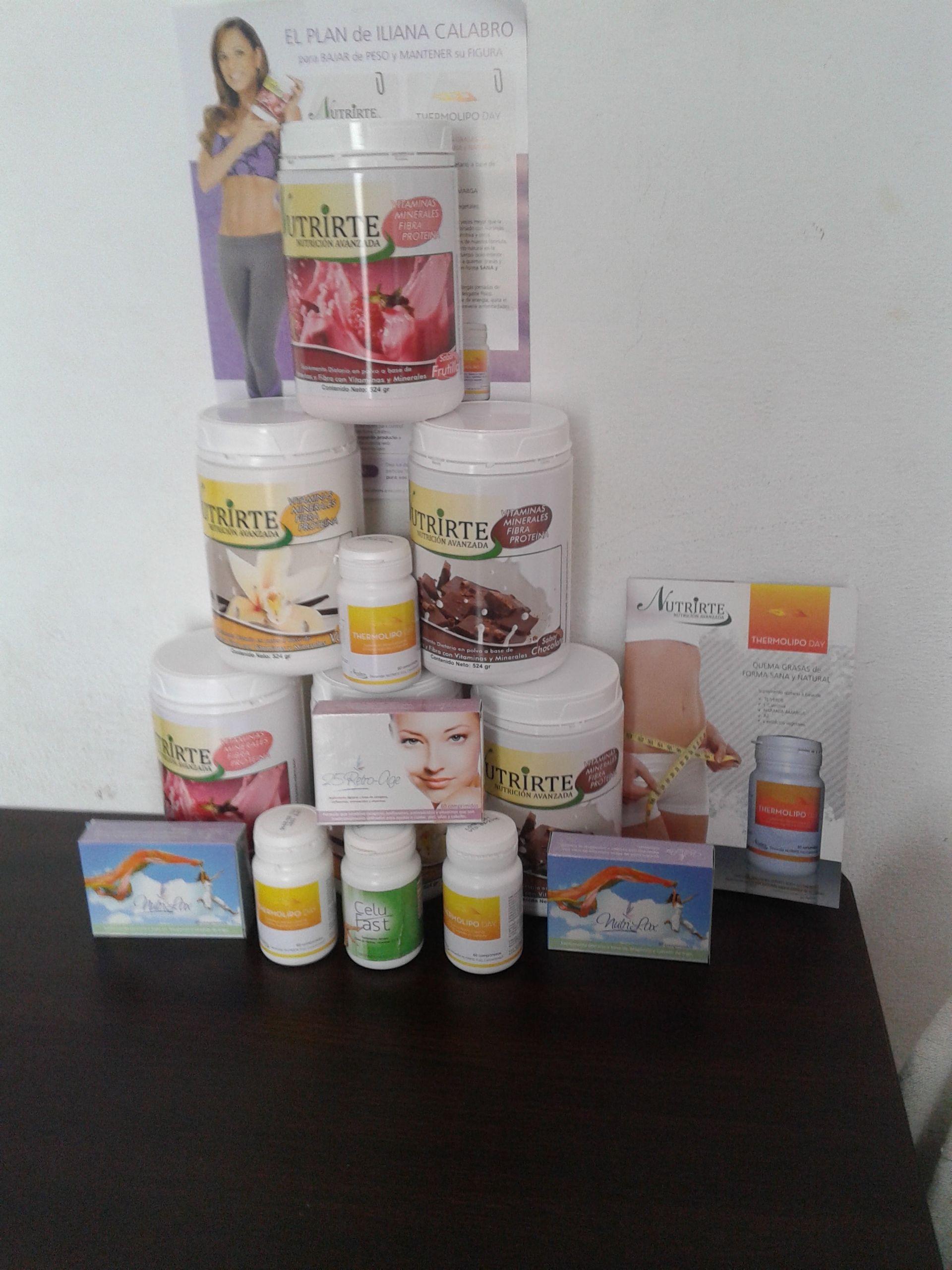 Productos NUTRIRTE Formula Avanzada..