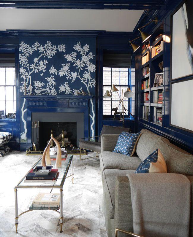 an elegant new york apartment | Living room decor gray ...