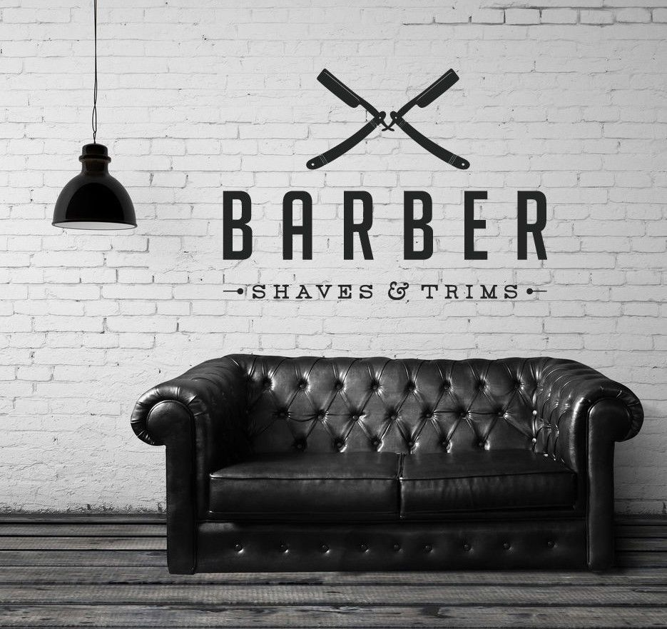Free Shipping UNISEX HAIR SCISSORS Salon Hairdresser Beauty Barber - Custom vinyl wall decals for hair salonvinyl wall decal hair salon stylist hairdresser barber shop