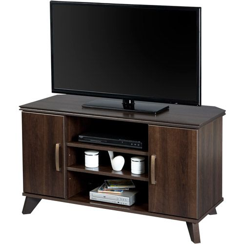 South Shore Caraco Mocha Corner Tv Stand For Tvs Up To 42