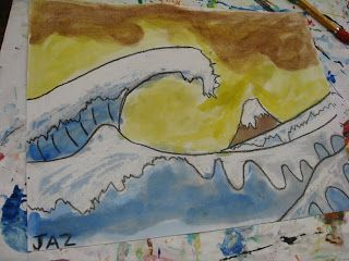 Warm/Cool Color activity-WAVES