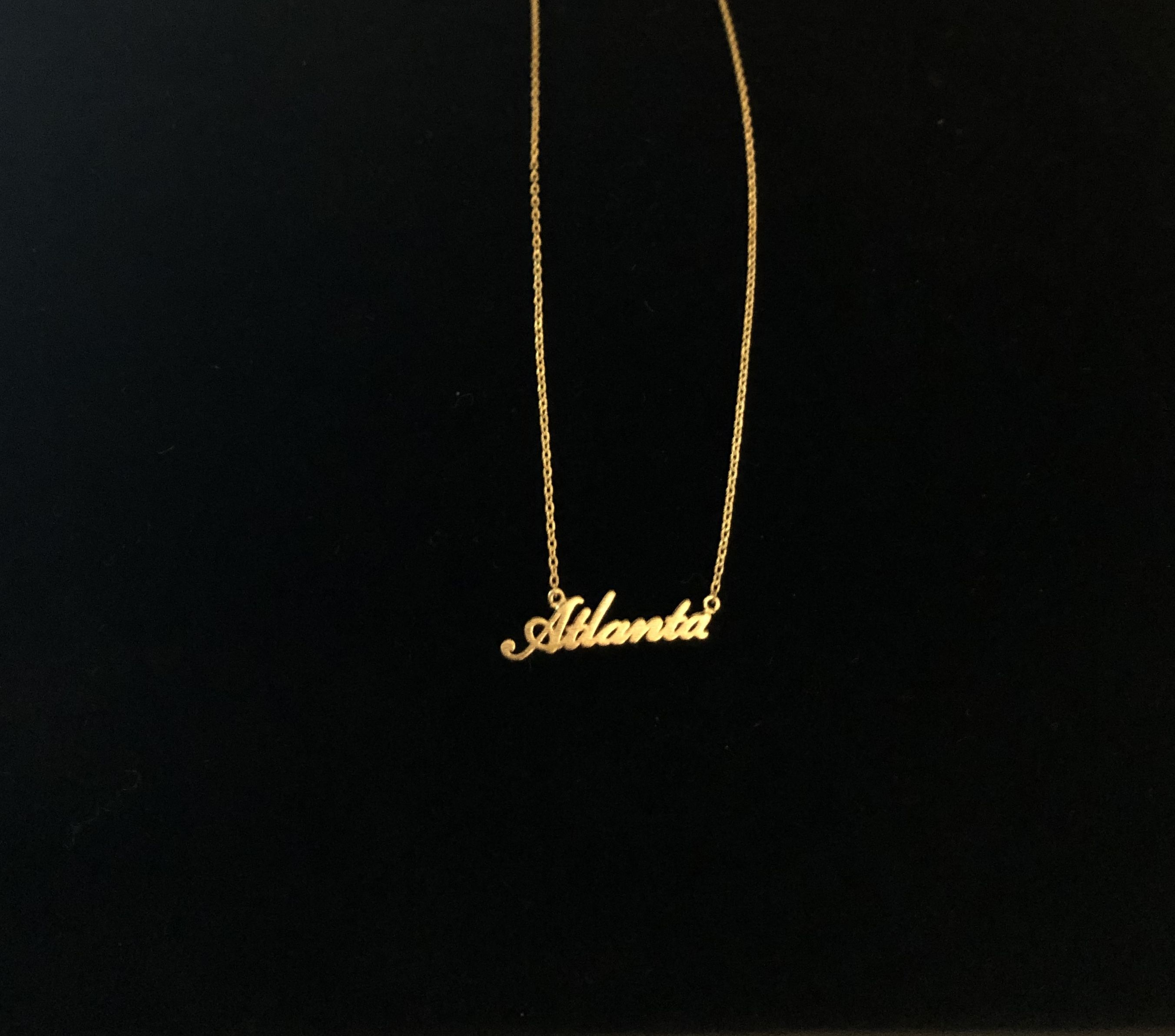 Atlanta Golden Necklace
