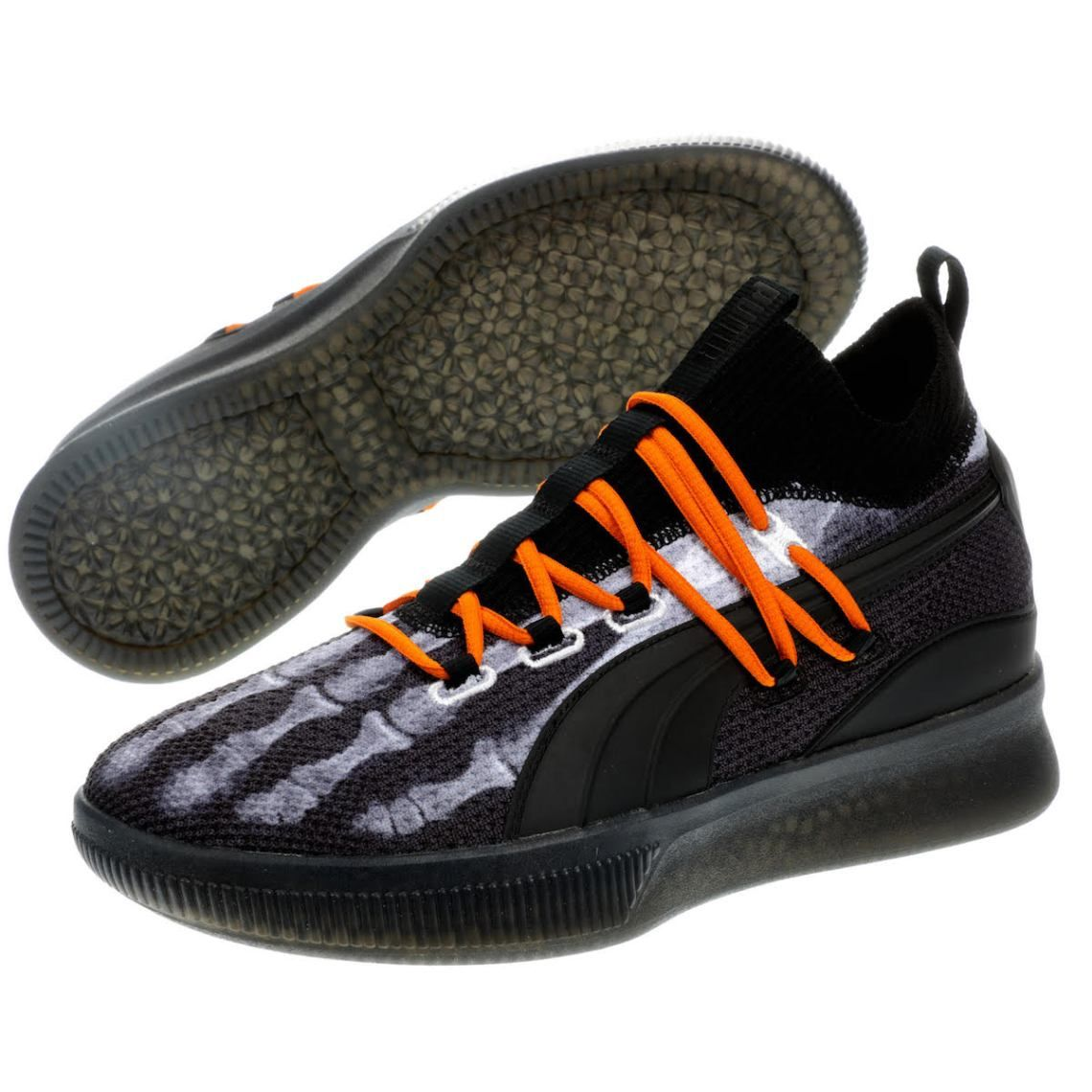 Details about Puma Clyde Court Disrupt Basketball Shoe Sneakers  Black Purple 191715-06 Size 11 in 2019  806fce7a1