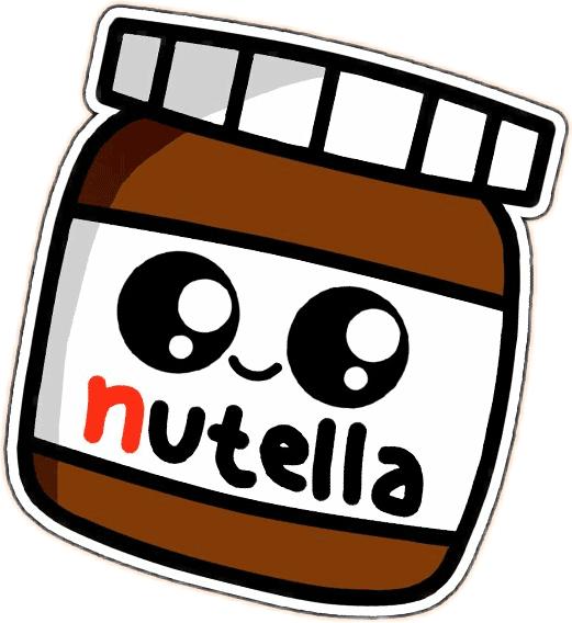 Nutella Kawaii Dibujos E Imagenes En Formato Png Y Gif Dibujos Kawaii Dibujos Kawaii Faciles Garabatos Kawaii
