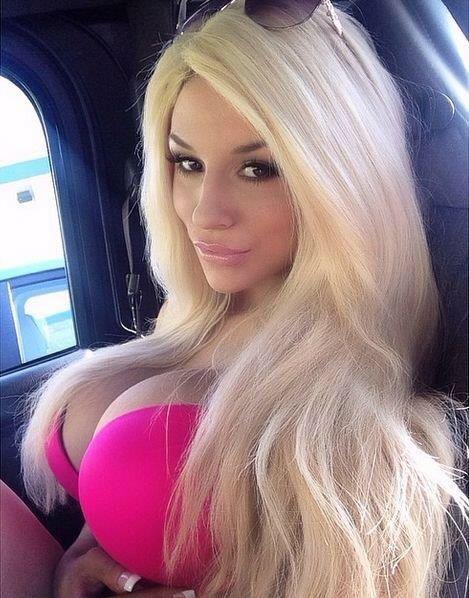 Blonde bimbo photo 89