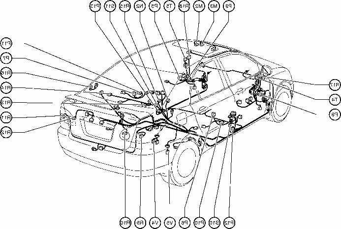 2004 toyota corolla body parts diagram