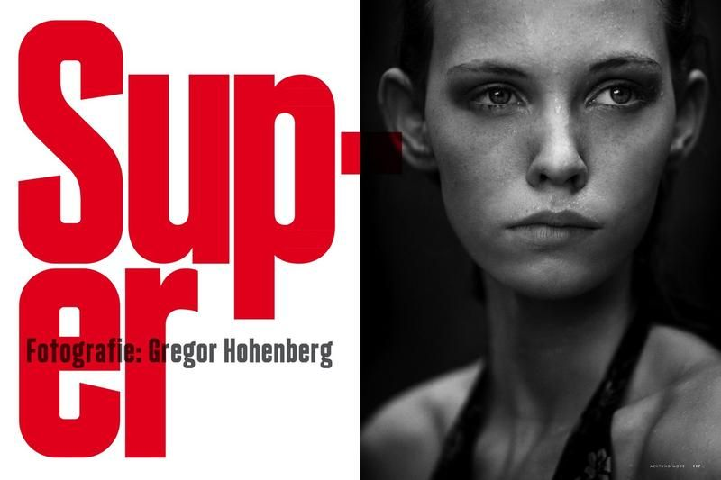 Achtung Magazine Super Nixen by Gregor Hohenberg client: Achtung Magazine source: achtung-mode.com published: May 2013