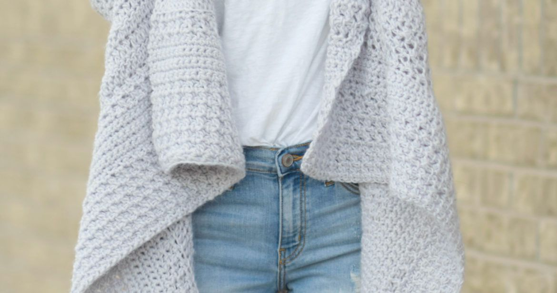 Cascading Kimono Cardigan Crochet Pattern – Mama In A Stitch ...