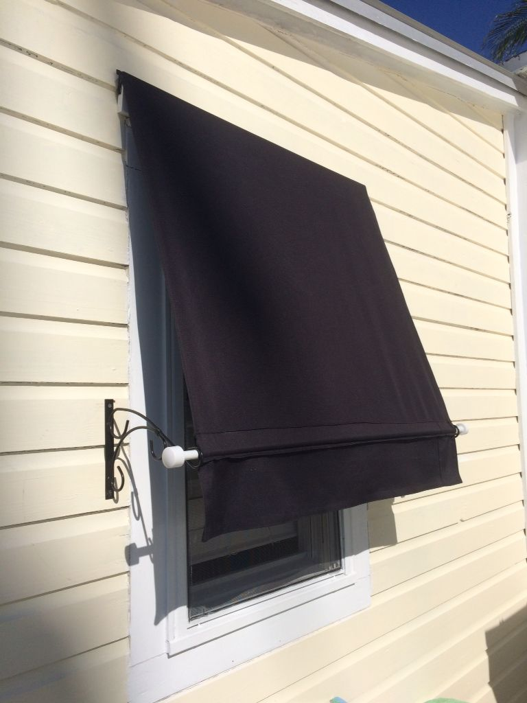 Home Made Awning Keeps The Sun From Beating In My Hallway