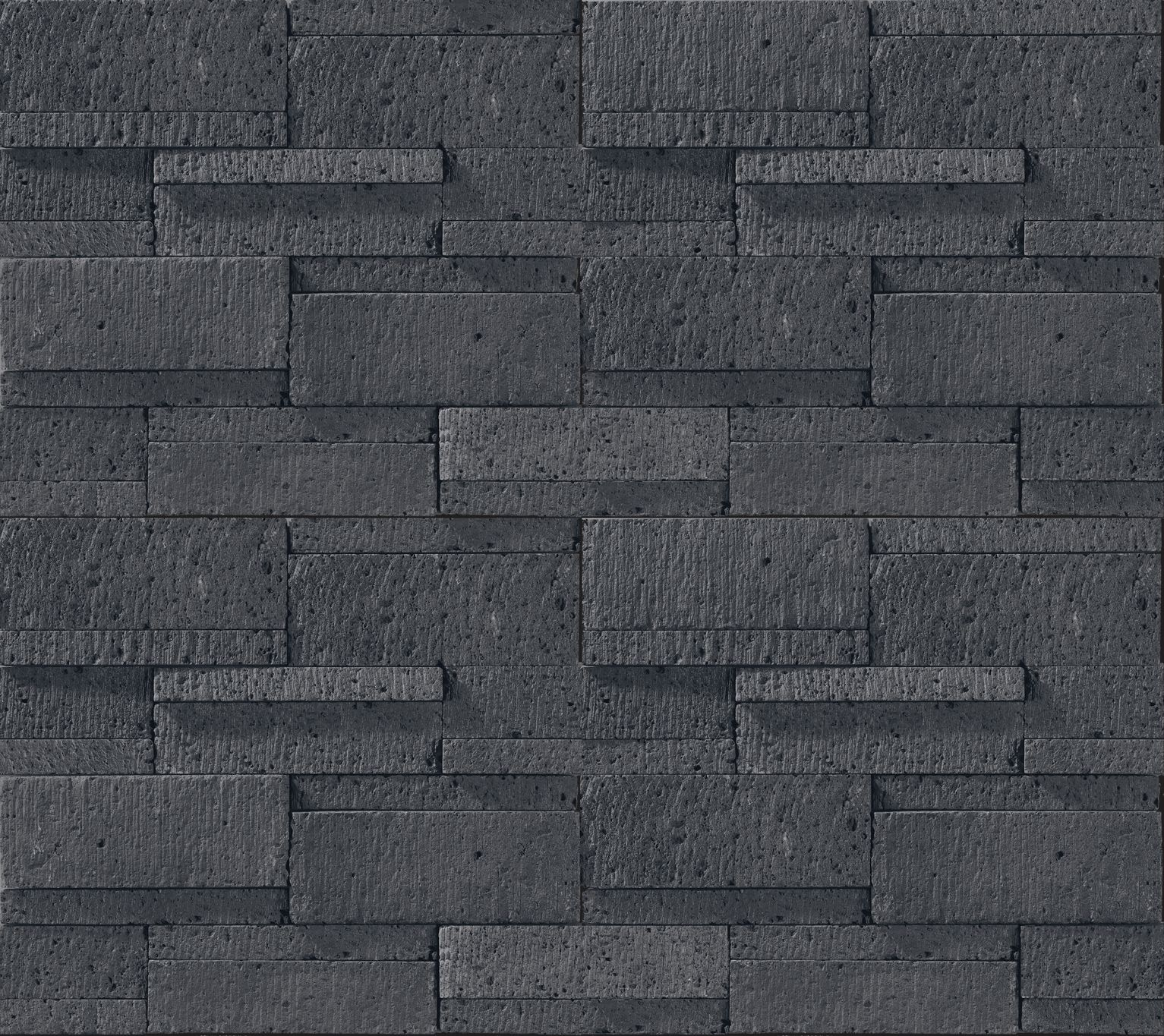 ストーン調のセメント二次製品 メイソンロック Icr 03 テクスチャサイズ 1180mm X 920mm Texture Wall Stone Black 黒 石調 モダン 壁テクスチャ 外装 内装 家 外観 内装 玄関 床 タイル