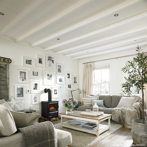 Our Living Room Makeover Natural Calico Sav\u0027s Barn
