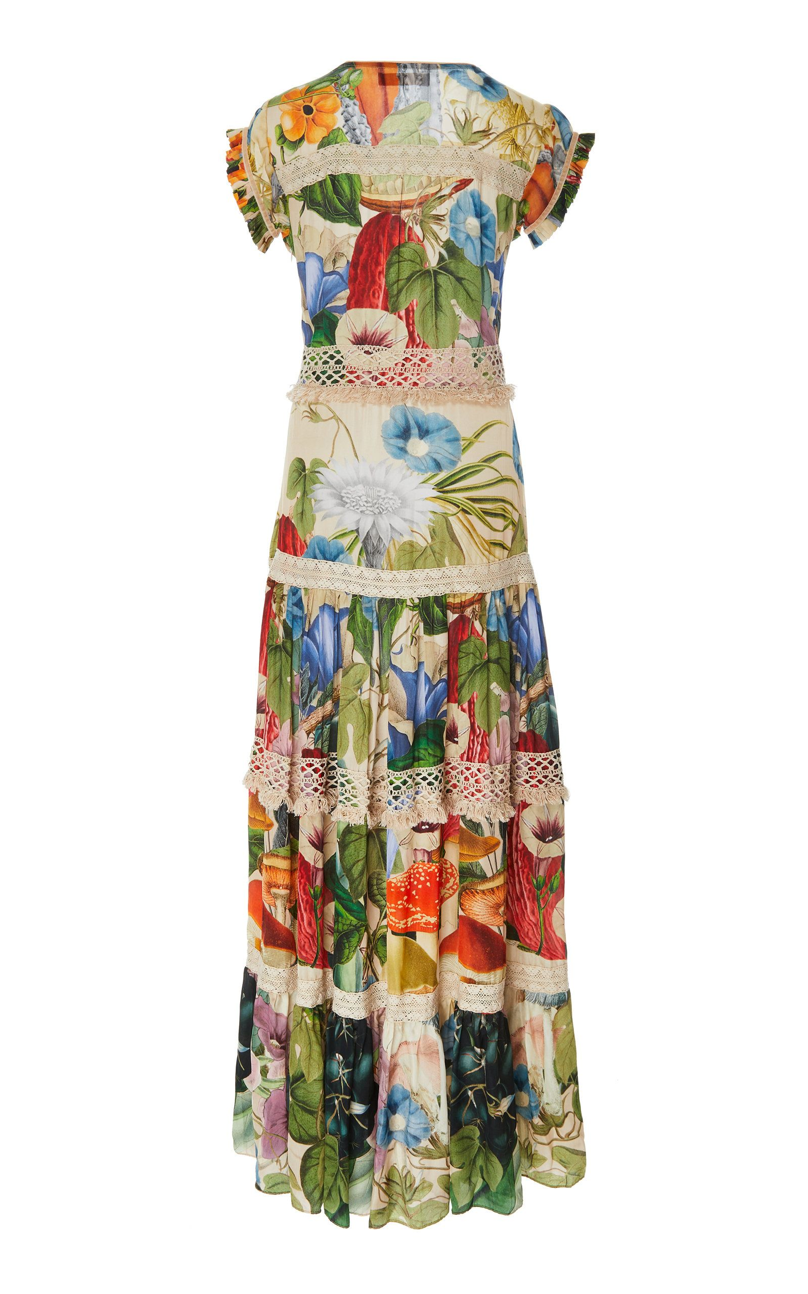 6c539dfdd0f Catalina V-Neck Embroidered Maxi Dress in 2019 | Products | Dresses ...