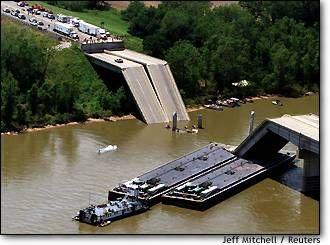 I 40 Bridge Collapse Webbers Falls Ok