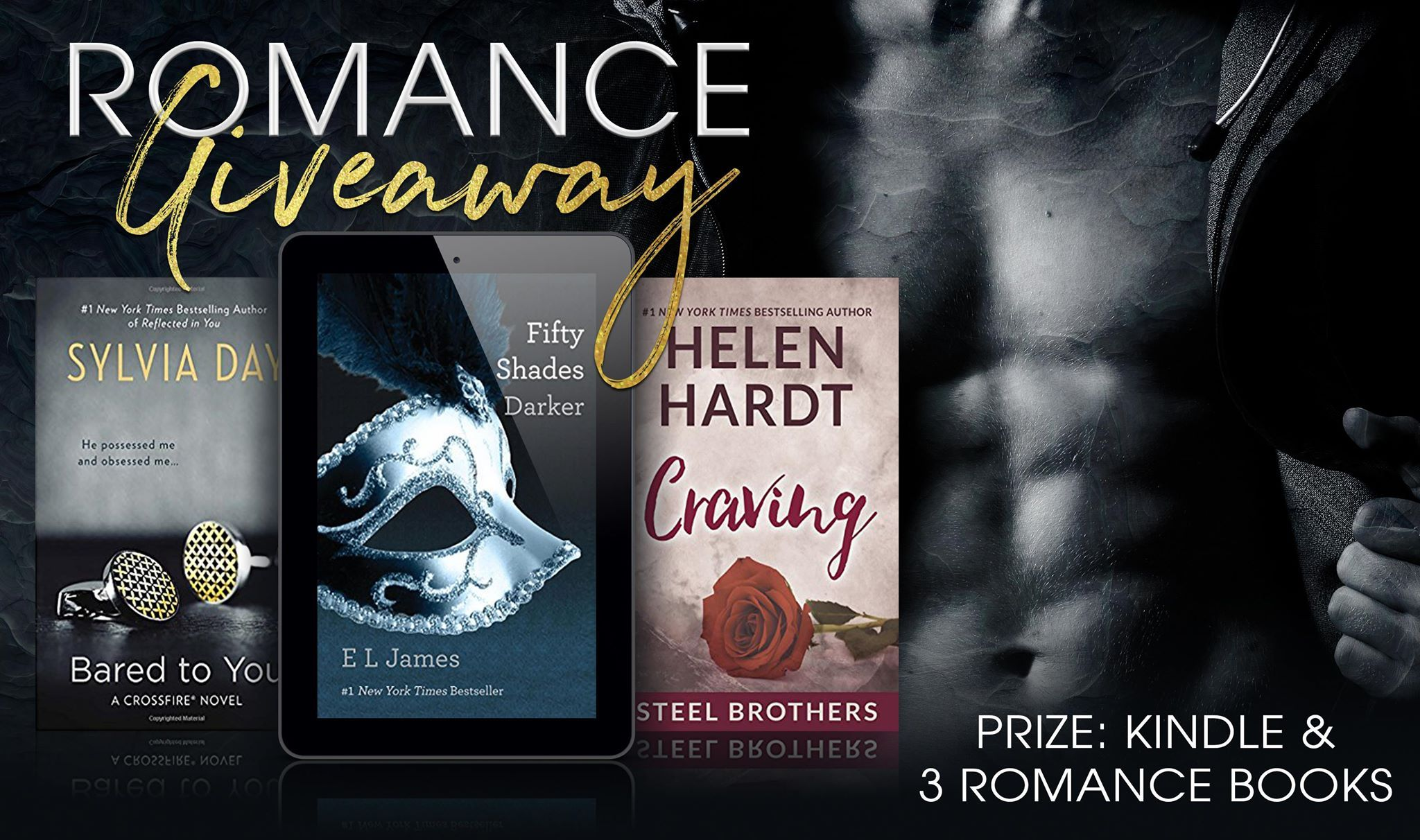 Epic #Romance #Giveaway – #Win 3 Romance Novels and a