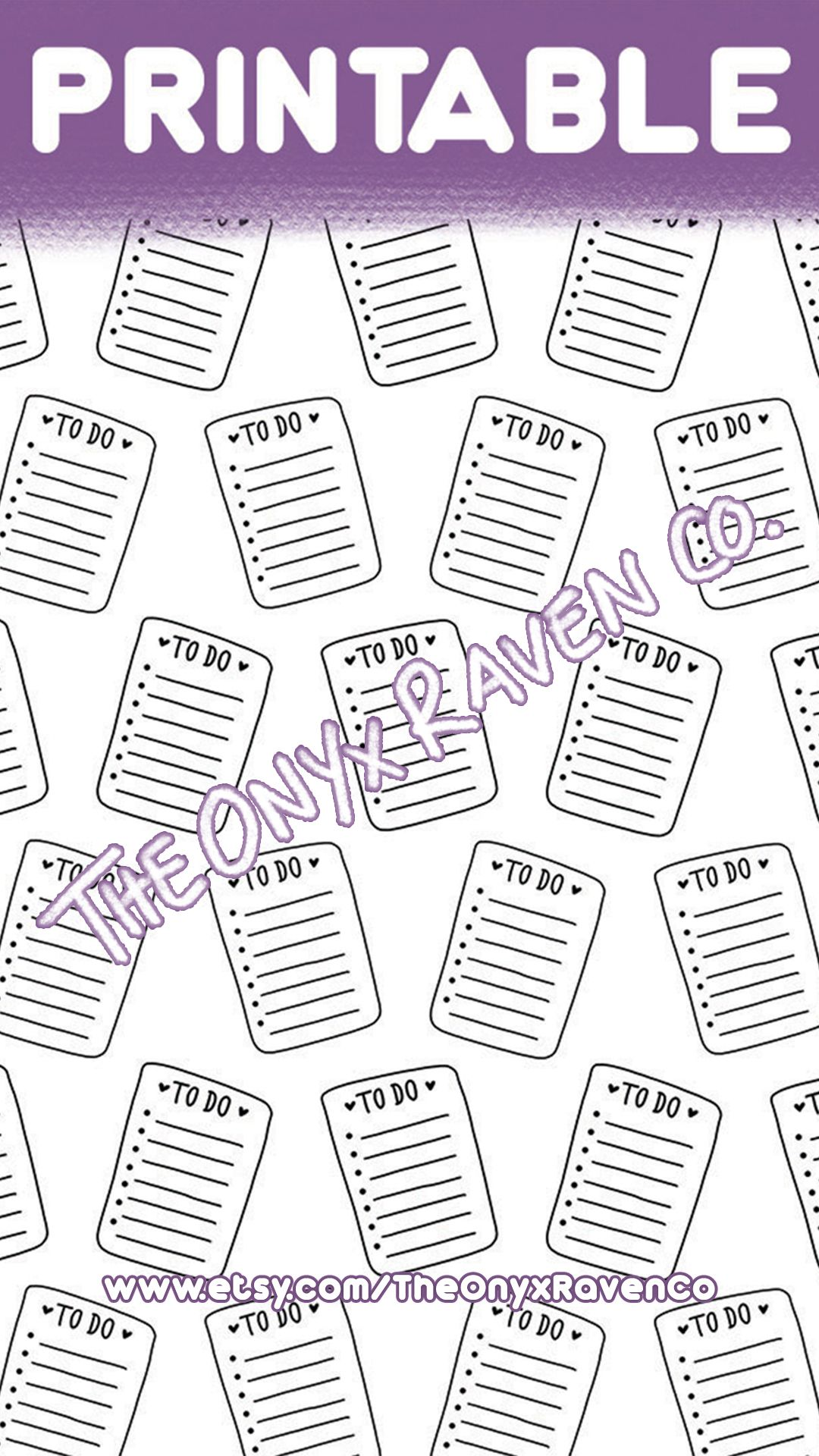 picture about Printable Vellum referred to as In the direction of Do Listing PRINTABLE VELLUM Acetate Paper Planner