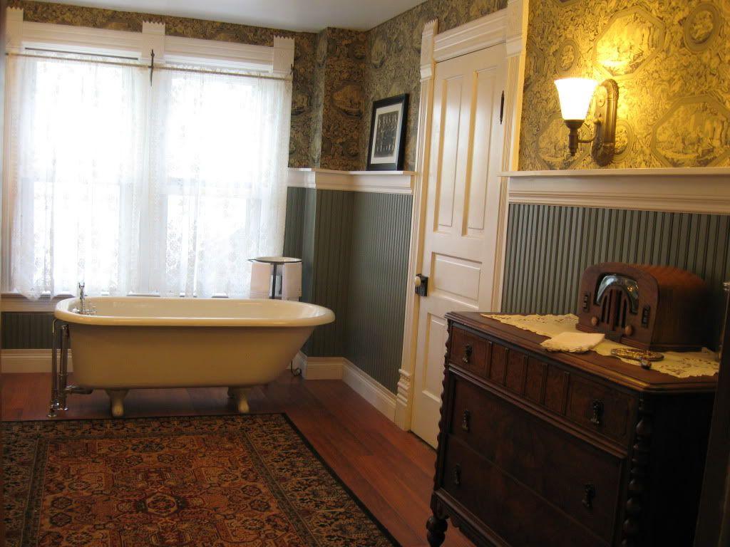 Back To 1951 With Images Beadboard Bathroom Bathroom Style Beadboard Wainscoting