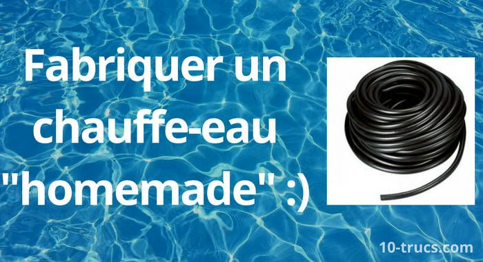 chauffer l 39 eau de la piscine truc et astuce blog. Black Bedroom Furniture Sets. Home Design Ideas