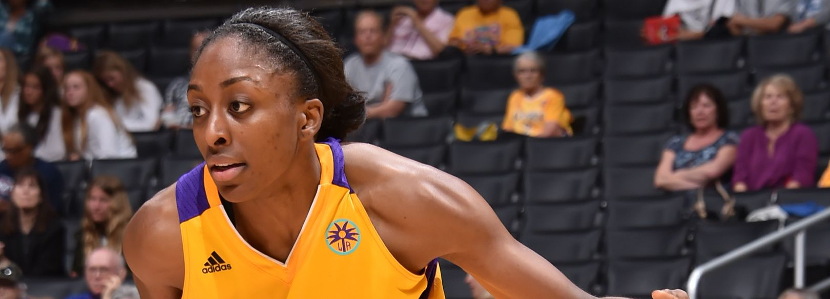 Sparks Forward Nneka Ogwumike Named Wnba Player Of The Week Los Angeles Sparks Stanford Womens Basketball Players Wnba