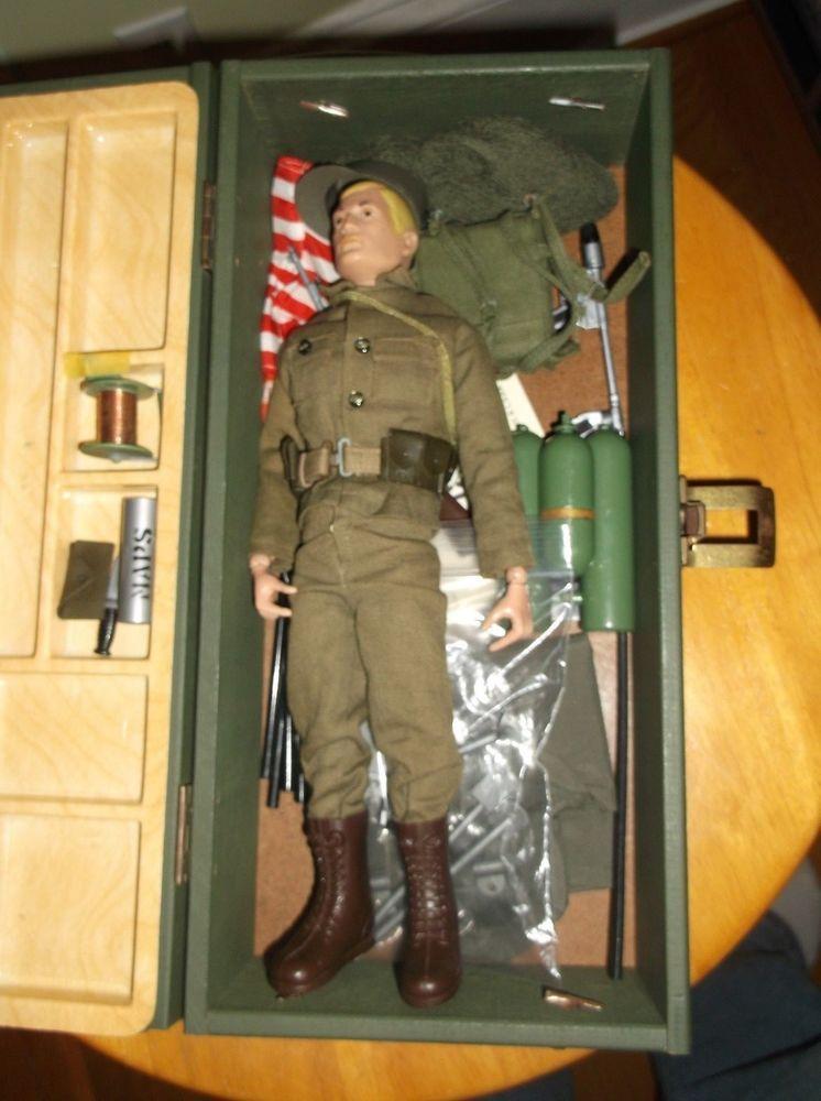 1964 Vintage G I Joe Action Figure W Outfits Accessories Storage Box Outfit Accessories Action Figures Vintage