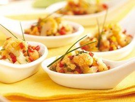 Buffalo cauliflower with bleu sauce | IGA Recipes |