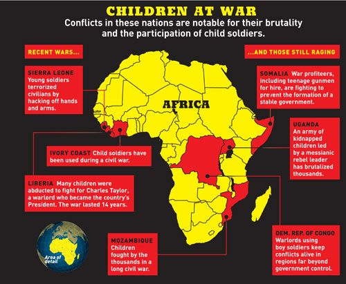Child soldiers at war homeland security pinterest africa and child soldiers at war gumiabroncs Images