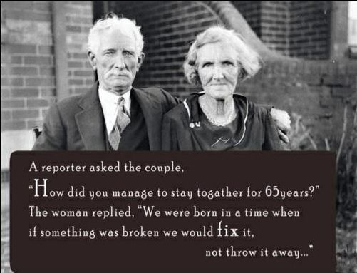 recipe for long lasting marriage | Old couples, Successful ...