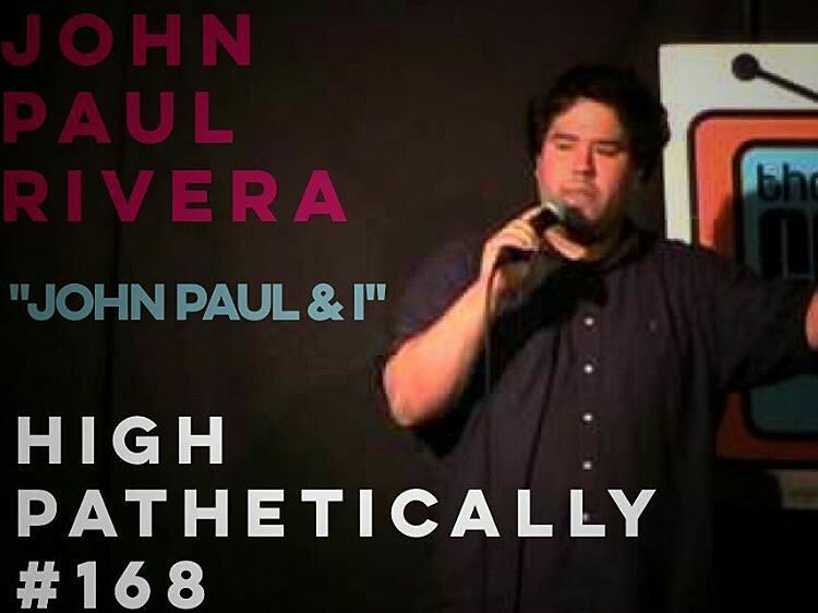 "@Regrann from @willnoonanthecomedian -  New Episode of #HighPathetically out now on iTunes willnoonan.com facebook twitter everywhere.  You asked for him so here he is! Fan Favorite podcast guest and comedian John Paul Rivera (@johnpalrivera) is back on the show to chat with WIll and discuss a litany of topics including : vaping having sex with older women places on Earth and much much more. Check out JPRs cool project on twitter @thenewyorkpast NEW ALBUM ""MENTAL WILLNESS"" AVAILABLE NOW…"