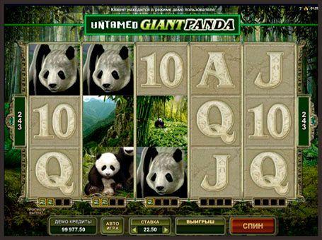 Бесплатный игровой автомат untamed giant panda проход лохотрон