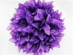 4 purple dahlia kissing balls $26.99