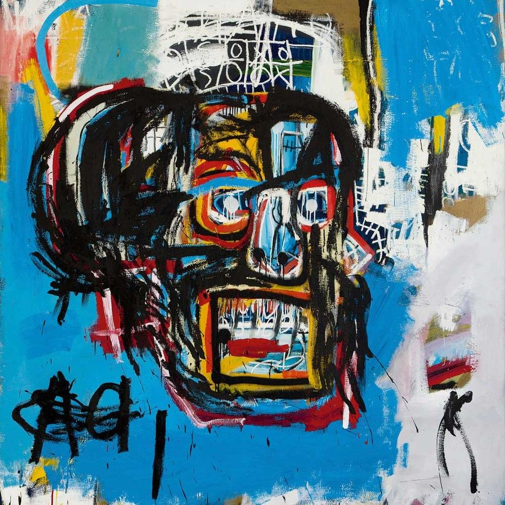 A Obra Do Americano Jean Michel Basquiat Atingiu Valor Recorde Foto Sothebys Via Ap Photo