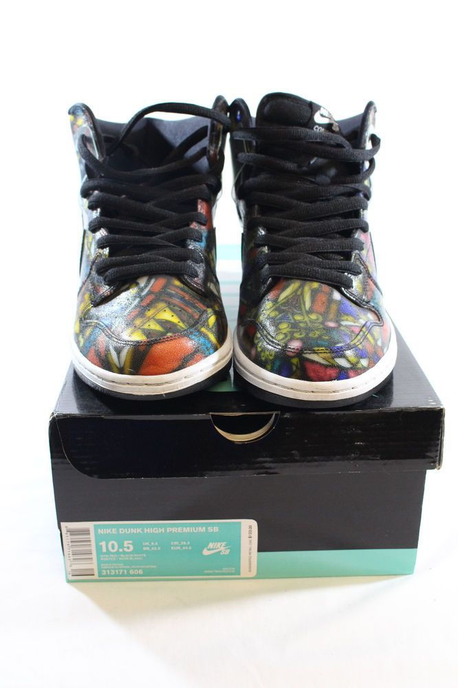 Grail Dunk Concepts Nike Pro Holy Sb Stained Glass High 5AjRLq43