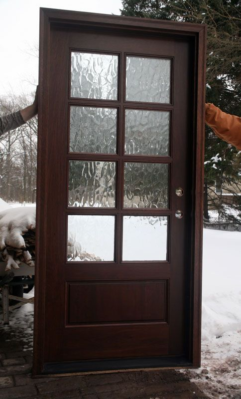 Pin by oceanknitter on doors in 2019 exterior front - Exterior glass panel french doors ...
