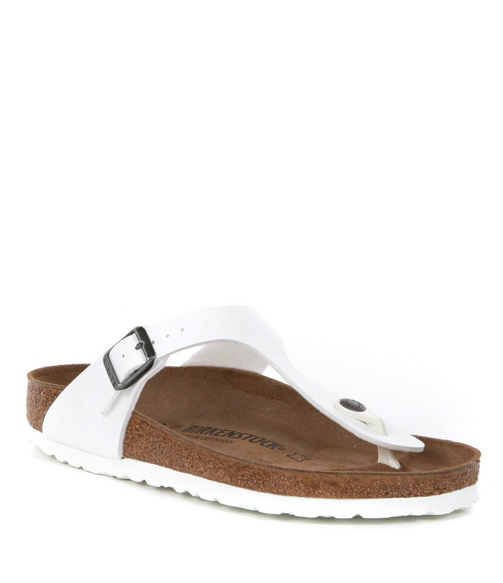 Birkenstock Gizeh Adjustable Strap Thong Sandals QtPMtJ