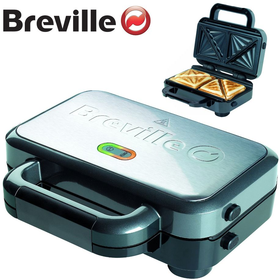 Sandwich Toaster Press ■Easy release removable dishwasher safe