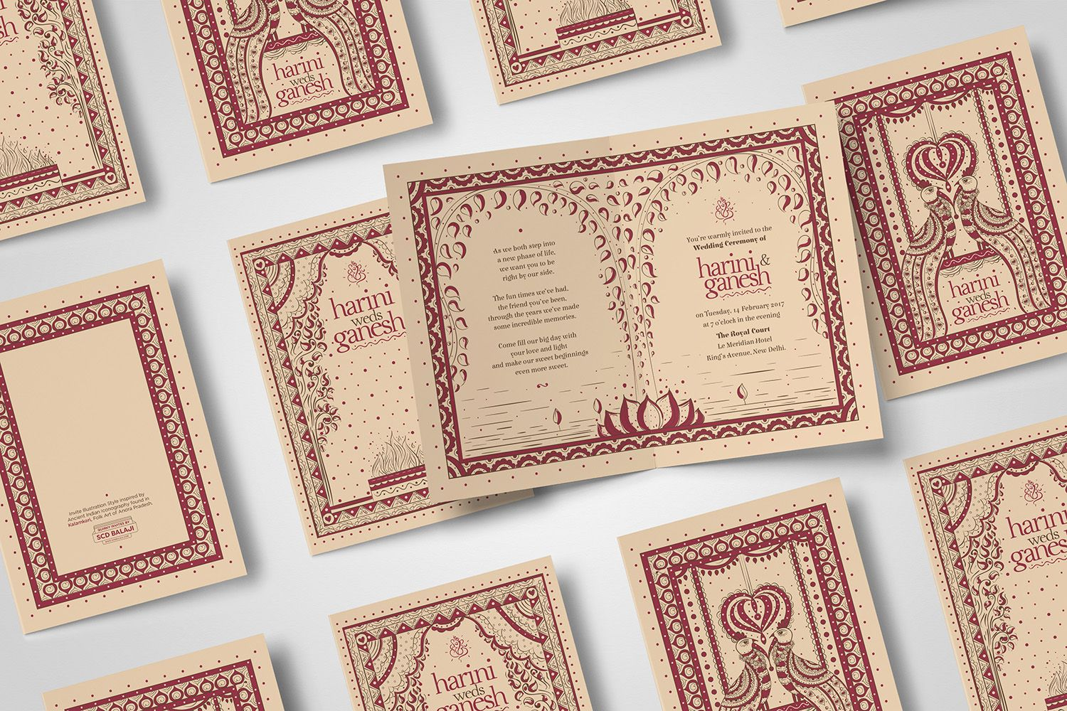indian wedding invitation cards with price%0A An Indian Illustrator specialised in Artistic Branding for Startups  Indian  Folk Art Illustrations and Invite Illustrations