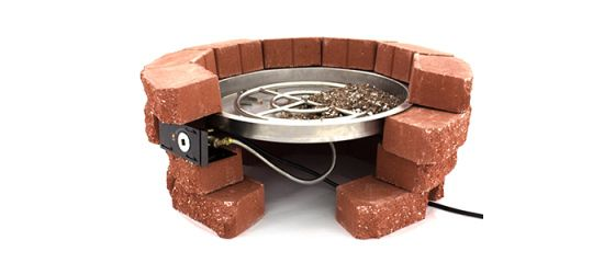 Diy Dry Stack Fire Pit How To Build A Fire Pit Diy