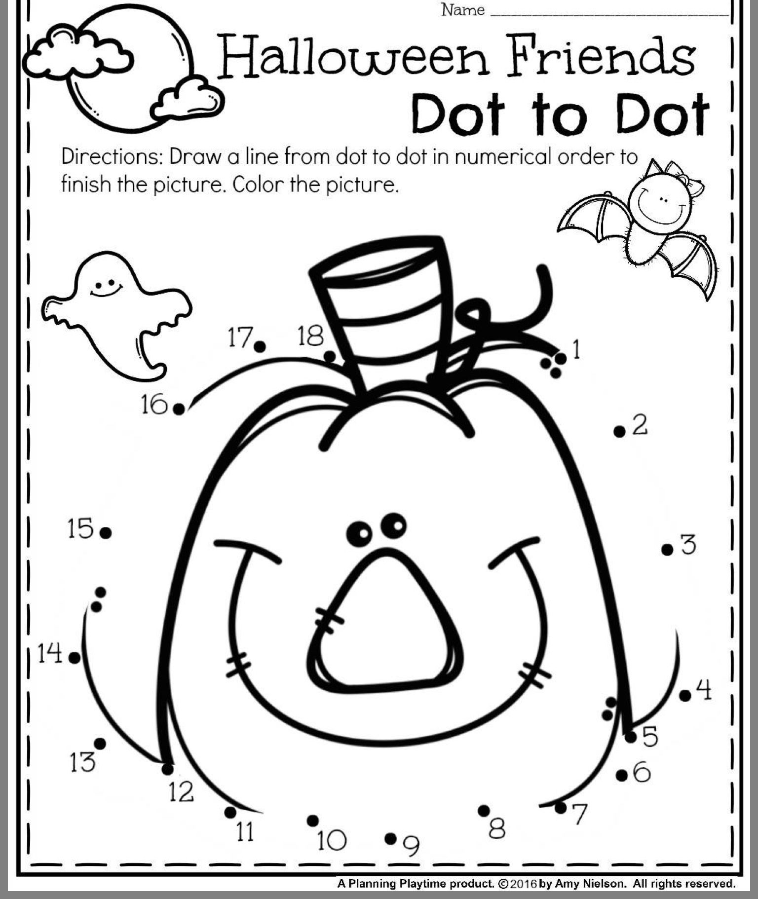 Pin By Elisabeth Lourdes On Crafts Halloween Worksheets