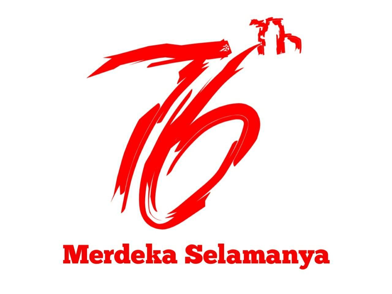 Konsep Logo Kemerdekaan Indonesia 76 Tahun By Me Gambar Sahabat