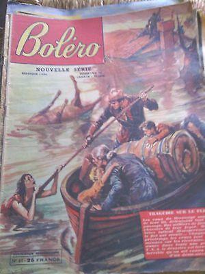 Boléro n°61 tragédie sur le fleuve  Roman photo NO nous deux intimité confidence
