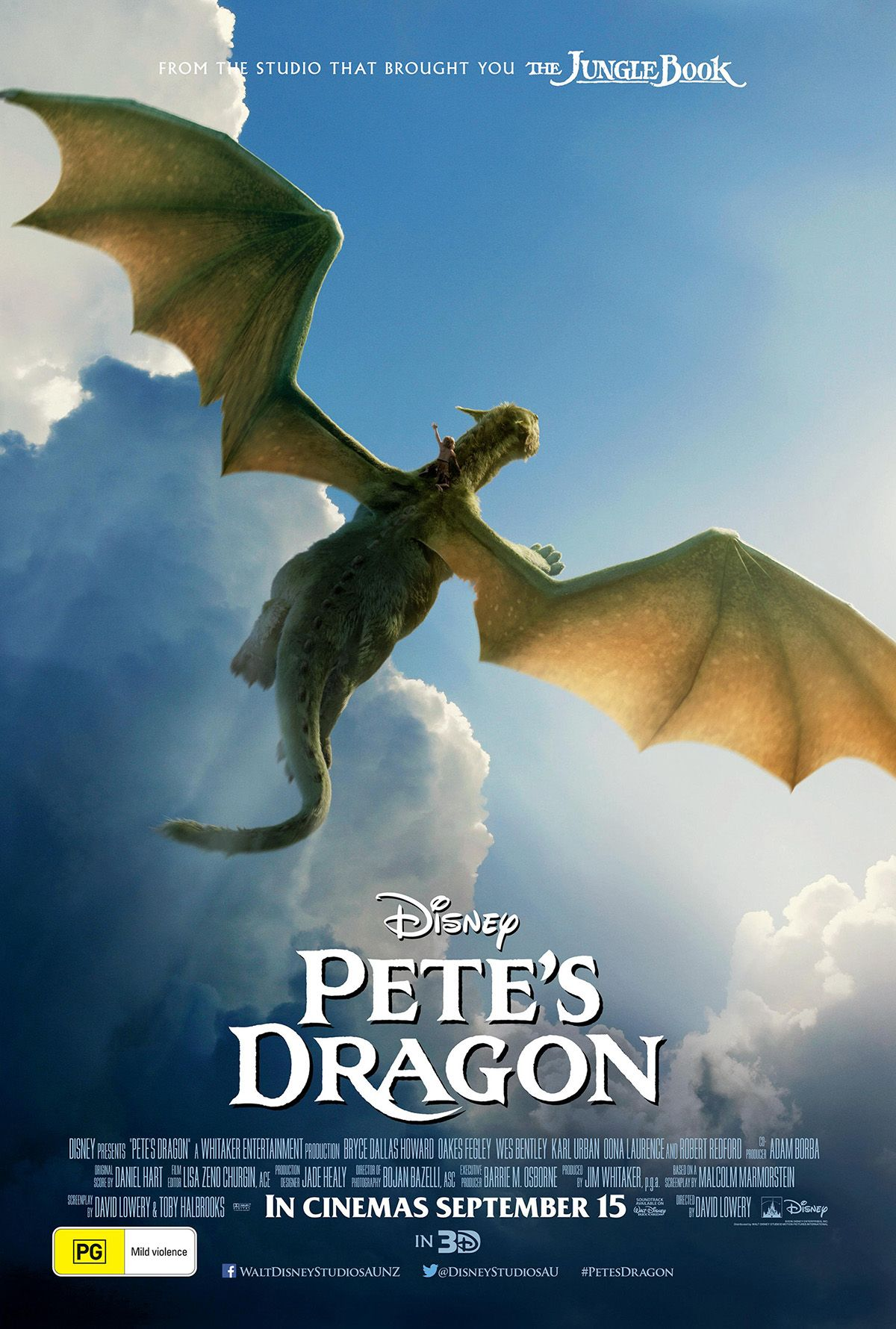 """I cannot wait for it to hit theatres this Thursday so I can experience the joy of watching it all over again."" Kernel Jack Dignan​ loves Disney​'s remake of Pete's Dragon​ as much as I worshipped the original. Can't wait to see this one myself this weekend. Review's now up for your reading pleasure. http://saltypopcorn.com.au/petes-dragon/"