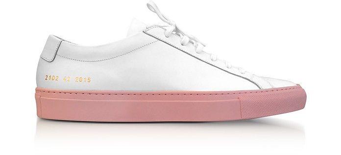 Projets Communs Achilles Top Sneakers Haut - Noir ELWxgu0B