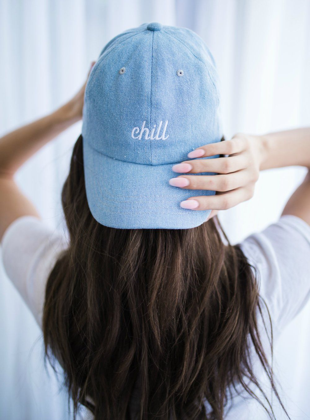 Cute Instagram Teen 72 Pics: Embroidered Hat. Chill Hat.