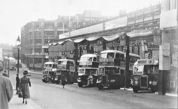 Worswick Street Bus Station Newcastle England Uk Pinterest