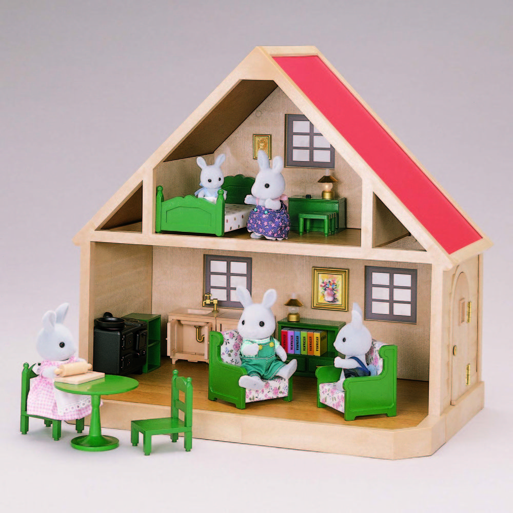 1985 country cottage babblebrooks family 1985 country cottage babblebrooks family sylvanian families house christmas